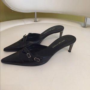 Sliding heel-sandals by Sergio Rossi